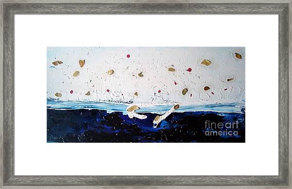 Ocean Of Leaves Framed Print