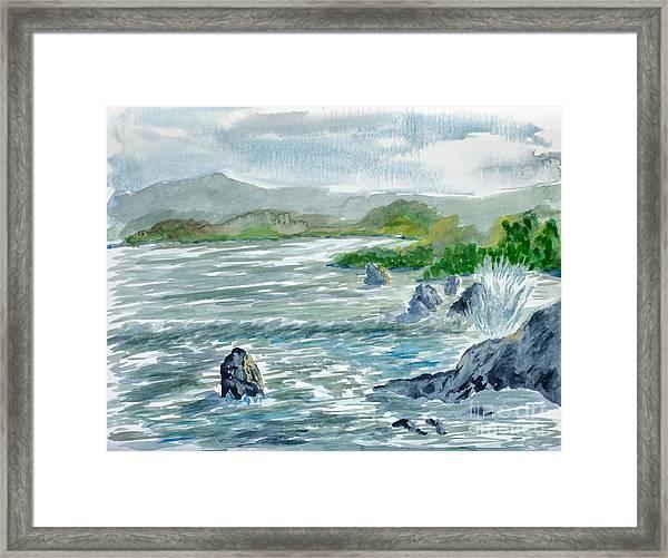 Ocean Spray Framed Print