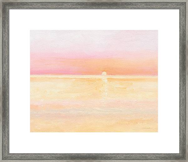 Ocean Symphony Framed Print