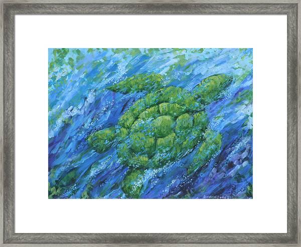 Ocean Voyager Framed Print