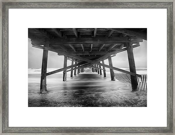 Oceanana Pier Framed Print