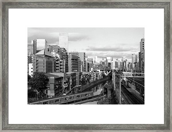 Ochanomizu Framed Print by Photograph By Clinton Watkins, Japan