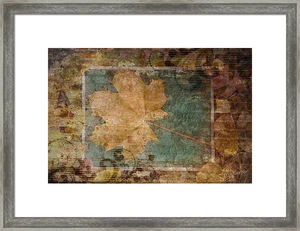 Ode To Autumn Framed Print