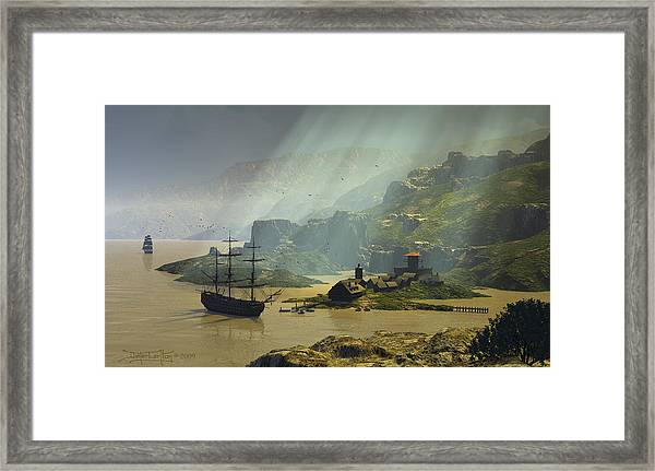 Of A Time Framed Print