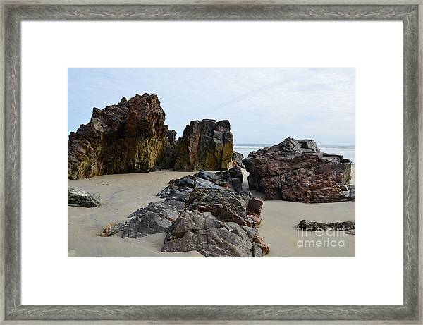 Of Earth And Sky Framed Print