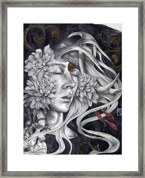 Of Love And Shadows Framed Print