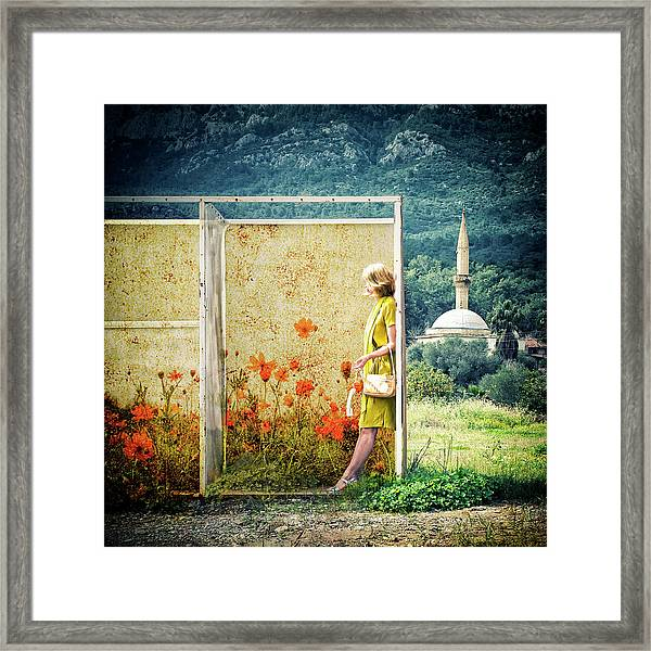Off-line Framed Print