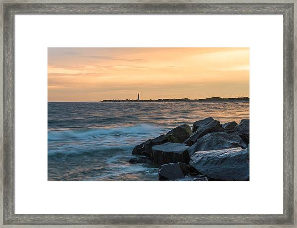 Off The Cape Framed Print