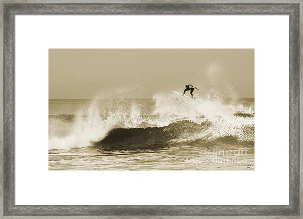 Off The Top Framed Print