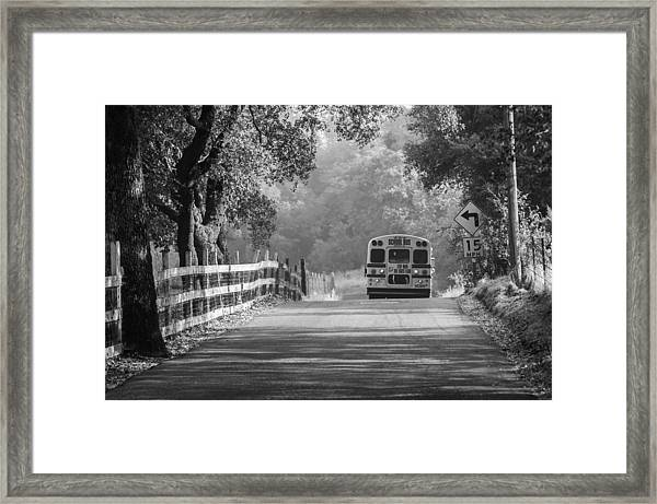Off To School 2 Framed Print
