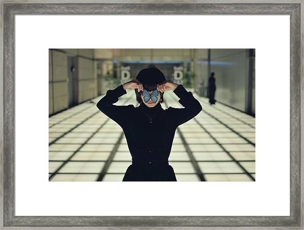 Off-worlder Framed Print