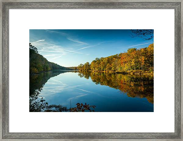 Ogle Lake Framed Print