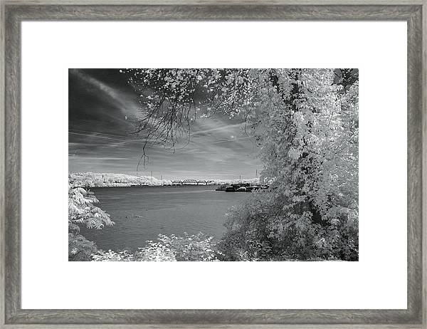 Ohio River Framed Print