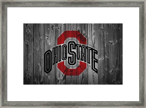 Ohio State University Framed Print