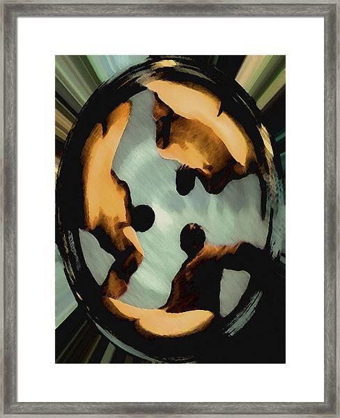 Ohm Framed Print