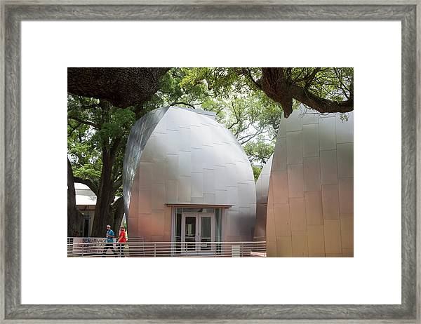 Ohr-o'keefe Museum Of Art Framed Print