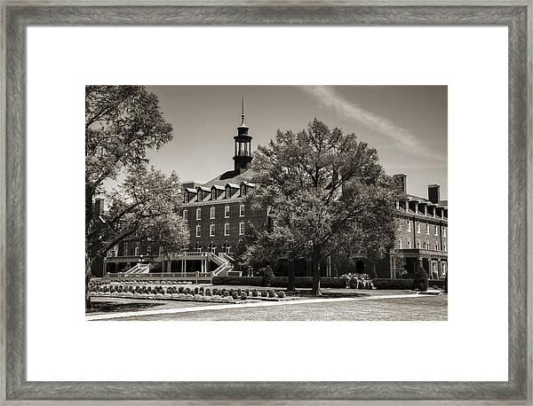 Oklahoma State Student Union Framed Print