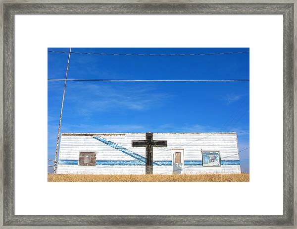 Oklahoma Style Framed Print