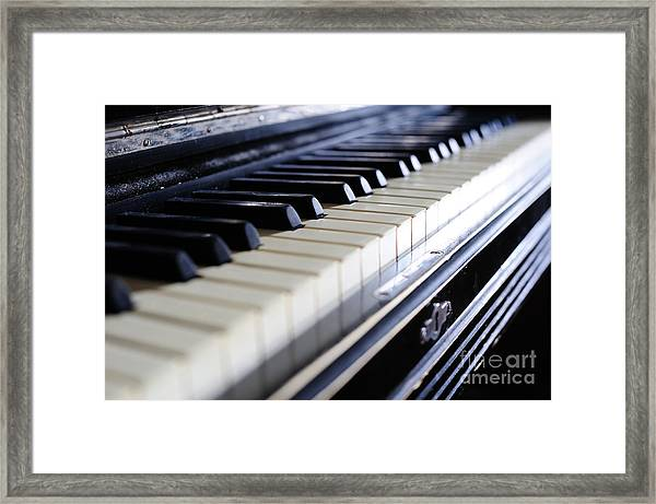 Old 88 Piano Framed Print