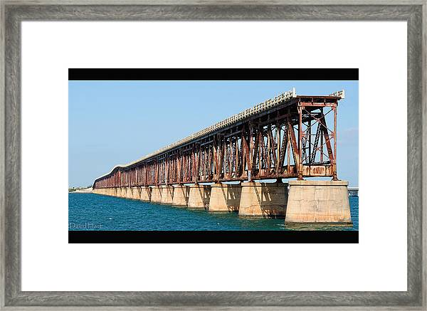 Old Bahia Honda Bridge 2 Framed Print