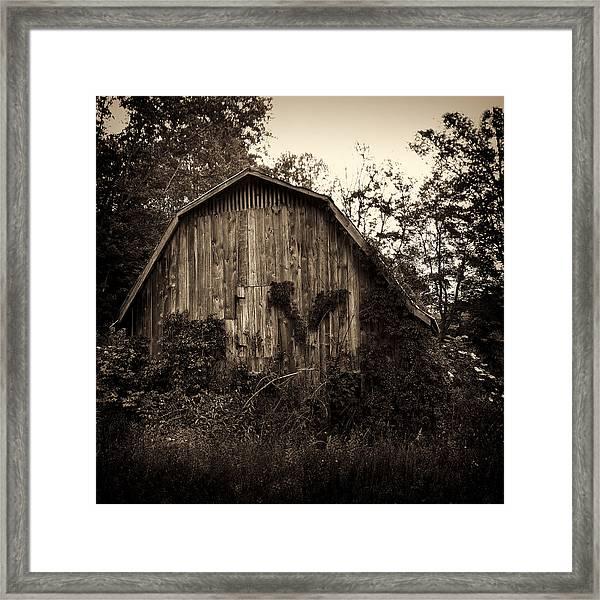 Old Barn 04 Framed Print