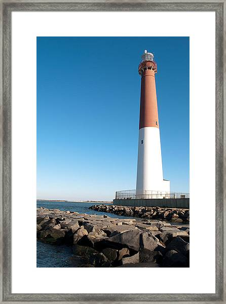 Old Barney Framed Print
