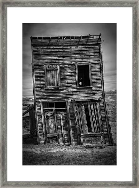 Old Bodie Building Framed Print