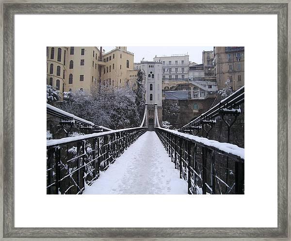 Old Bridge Of Constantine Framed Print