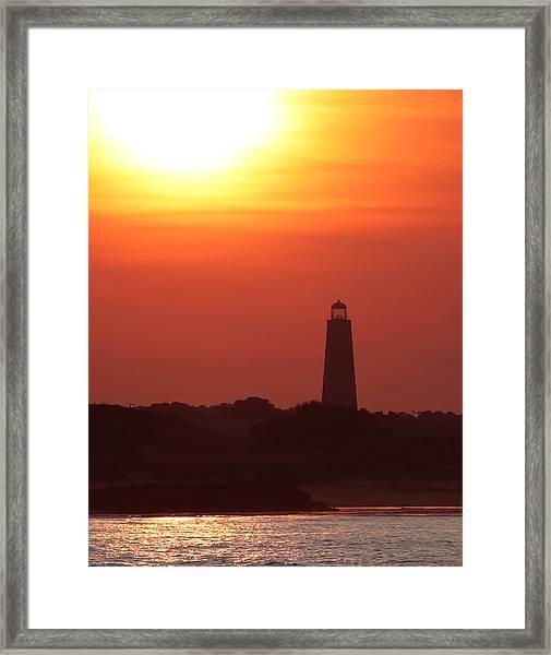 Old Cape Henry Lighthouse  Framed Print
