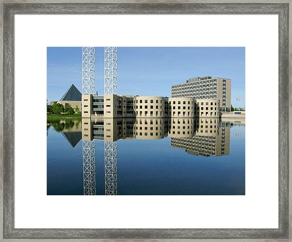 Old City Hall Ottawa Framed Print