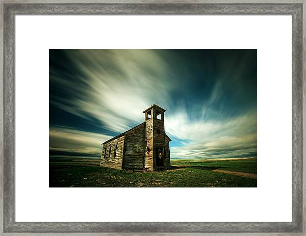 Old Cottonwood Church Framed Print