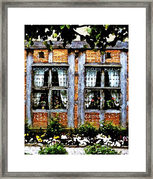 Old Country Charm Framed Print