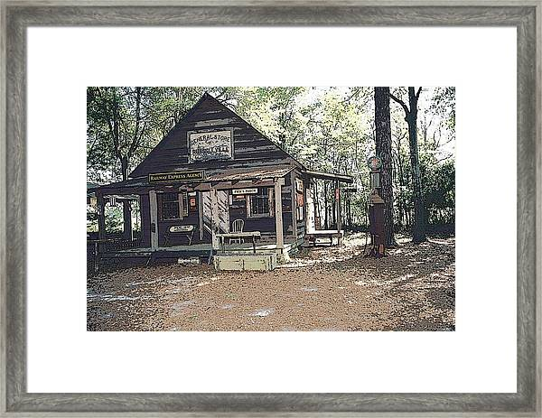 Old Country Store Framed Print