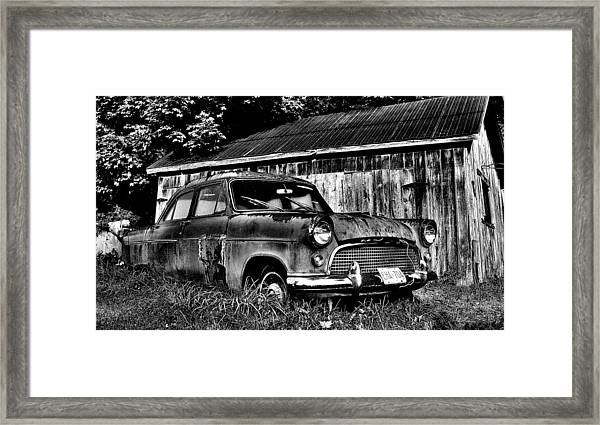 Old Dreams Framed Print