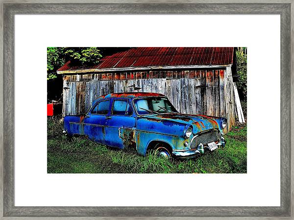 Old Dreams - Perspective 2 Framed Print