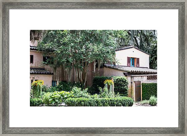 Old Florida Style Framed Print