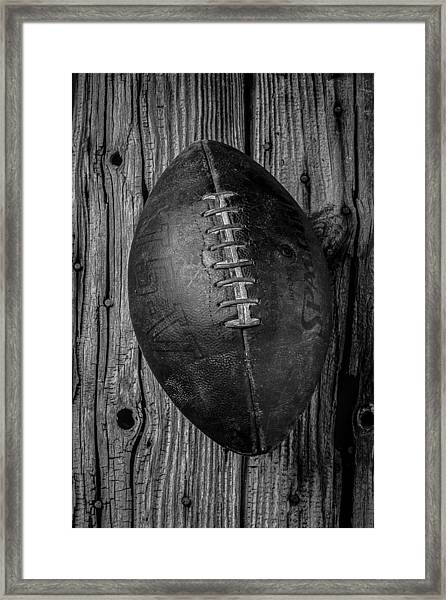 Old Football Framed Print
