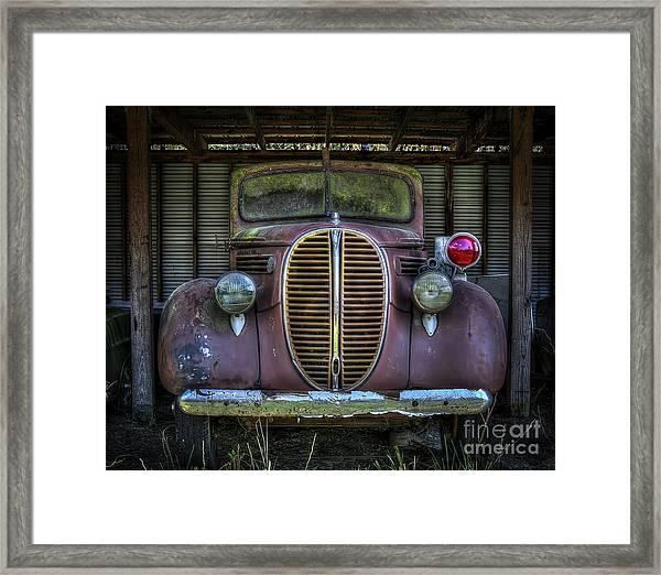 Old Ford Firetruck 2 Framed Print
