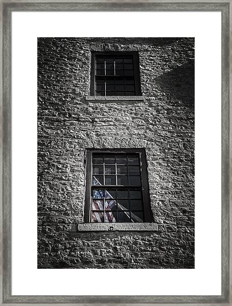 Old Glory Framed Print
