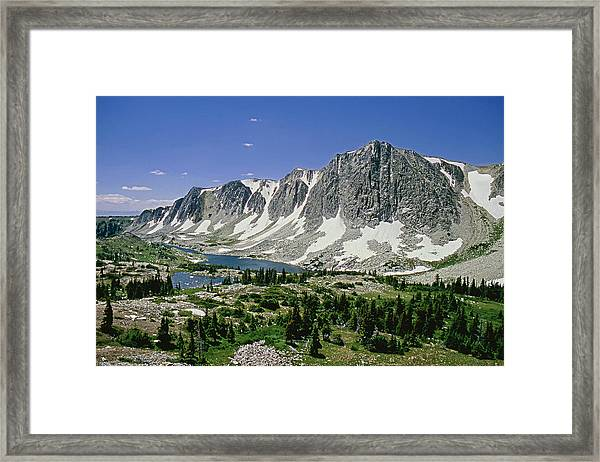 M-09702-old Main Peak, Wy Framed Print