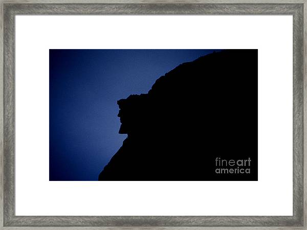 Old Man Of The Mountain - Franconia Notch State Park New Hampshire Framed Print