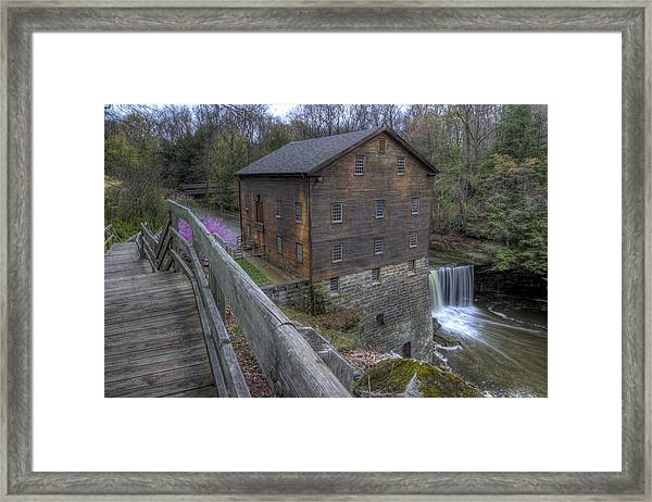 Old Mill Of Idora Park Framed Print