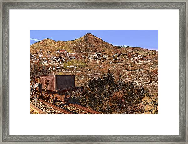 Old Mining Town No.24 Framed Print