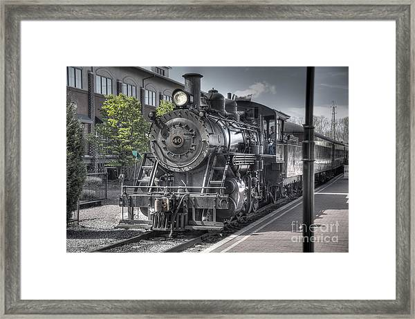 Old Number 40 Framed Print