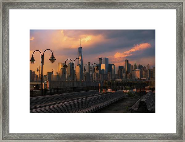 Old Nyc Framed Print