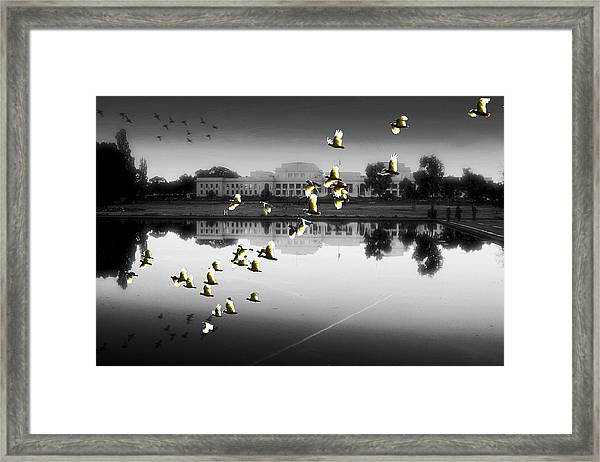 Old Parliament House Canberra Framed Print