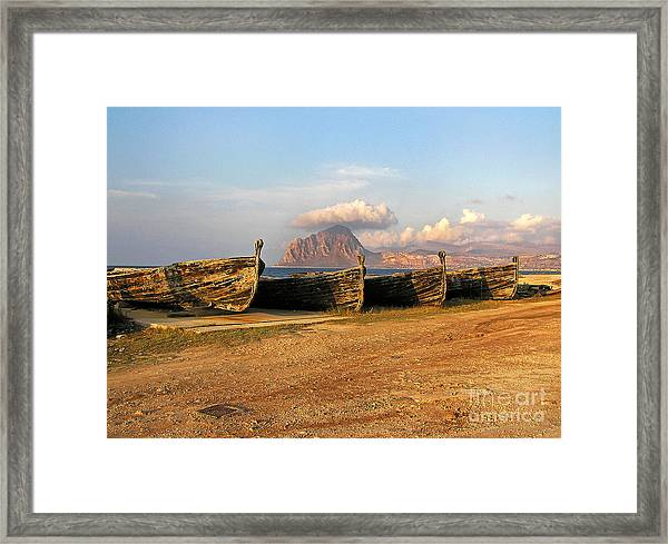 Aquatic Dream Of Sicily Framed Print
