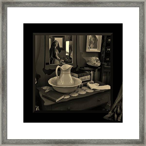 Old Reflections Framed Print