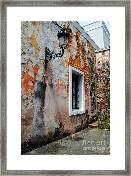 Old San Juan Jail Framed Print