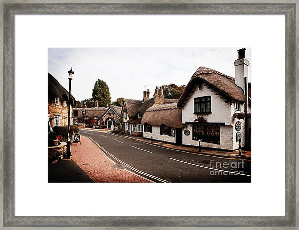 Old Shanklin Isle Of Wight  Framed Print